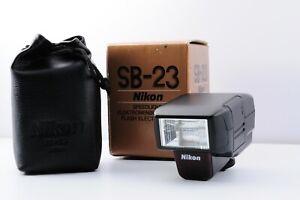 【MINT IN BOX】Nikon Speedlight SB-23 Shoe Mount Flash for Nikon from Japan 【DHL】