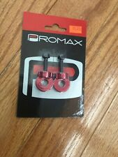 """Promax C-2 Chain Tensioners for 3/8""""/10mm Axles Red"""