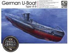 AFV Club Se73502 1/350 German U-boat Type VII B Plastic Model Kit