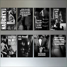 Erotica classico vintage N°2 Set di 8 Calamite Da Frigo