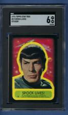 1976 Star Trek Sticker Spock Lives! SGC 6 EX-NM