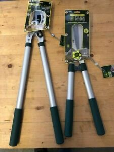 SPEAR AND JACKSON BYPASS LOPPERS + HAND SHEARS KEW GARDEN TOOL COLLECTION