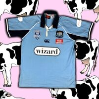 NSW State Of Origin Jersey 2005 Canterbury Size L Blues Rugby Polo