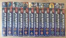 The Guyver : Bio-booster Armour - Data 1-12 VHS; Complete classic anime manga