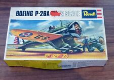 1972 Revell 1/72 scale Boeing P-26A Peashooter (H-656) plane kit