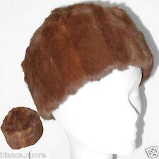 Cappello Pelliccia LAPIN donnaTgl 55 56 marrone colbacco ENTRA art. G048 6a62e0382b03