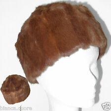 Cappello Pelliccia LAPIN donnaTgl 55 56 marrone colbacco ENTRA art. G048 d4a3f5cf03a8