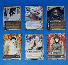 Naruto Cards Shattered Truth opened Blister Pack Assorted Lot of 10