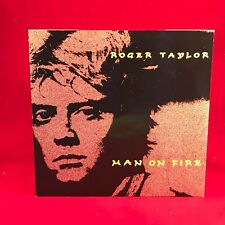 "ROGER TAYLOR Man On Fire 1984 UK 7"" Vinyl Single EXCELLENT CONDITION 45"
