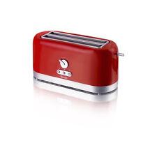 Swan Red 4 Slice Long Slot Toaster ST10090REDN