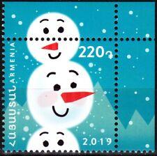 ARMENIA 2019-28 Christmas and New Year. CORNER, MNH