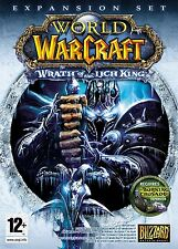 Gioco PC World of Warcraft WOW Wrath of the quanto King allargamento (add-on) NUOVO