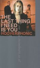 CD--HOOVERPHONIC--THE LAST THING I NEED IS YOU - CARDSLEEVE