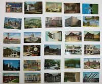 Lot of 78 Unused Un-mailed American Southern States postcards: Most 1930s -1960s