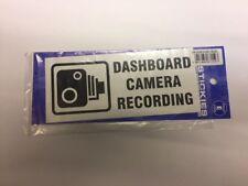 Dash Cam Recording Car Sticker,Dashboard Camera Skicker