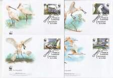 WWF 4 x FDC Romania 2006 - Vogels / Birds (304)