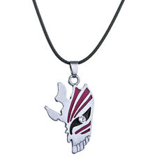 Creative Design Bleach Ichigo Kurosak Hollow Half Mask Semiface Pendant Necklace
