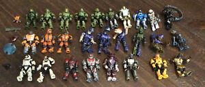 Halo Mega Construx Figure Lot