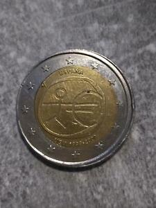 "Spain 2 Euro 2009 ""European Monetary Unit, 10th Anniversary"" Error"