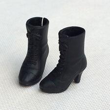 "12"" Neo Blythe doll Takara doll Black Fashion High-heeled Boots"