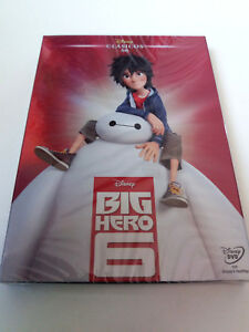 "DVD ""BIG HERO 6"" PRECINTADO SEALED CON FUNDA CARTON SLIPCOVER WALT DISNEY CLASIC"