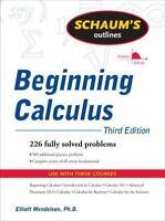 NEW - Schaum's Outline of Beginning Calculus, Third Edition
