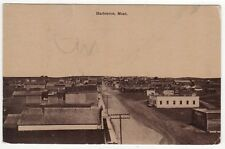 HARLOWTON MONTANA PC Postcard Lewellin Drug Company MT Wheatland County Co
