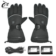 Winter Waterproof Heated Gloves Electric Sports Warm Heating USB Battery Powered