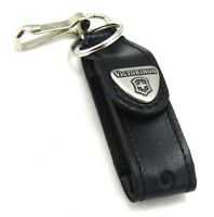 SWISS ARMY KNIFE BLACK LEATHER POUCH VICTORINOX  FOR CLASSIC FREE POSTAGE