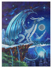 "Dufex Foil Picture Print - Ice Dragon - size 6"" x 8"""
