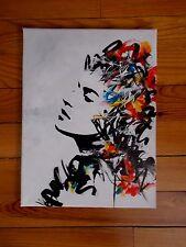 "Nohopia  "" True Colours ""  , Original Signée , Urban Graffiti Art"