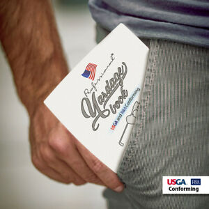 Professional Yardage Book 3 Pack, USGA Conforming