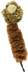 """Multipet 8"""" Plush fuzzy Bouncy Burrow Baby Dog Toy Play NO STUFFING Styles vary"""