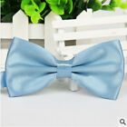 New Tuxedo Classic Bowtie Solid Color Neckwear Adjustable Men's Bow Tie