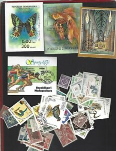Malagasy Rep. sc#1087 (1992) Souvenir Sheet MNH + Nice lot