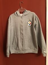 065e072f9 PITTSBURGH STEELERS PULLOVER HOODIE YOUTH LARGE (14-16) NFL TEAM APPAREL