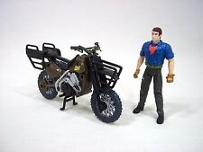 Vintage Jurassic Park III 3 JP3 Raptor Motorcycle Pursuit Bike Alan Grant Figure