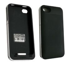 Original Mophie Juice Pack Air Case & Extended Battery iPhone 4 4S Black/White