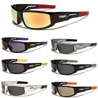 Mens Wrap Around Sunglasses Cycling Ski Baseball Running Water Sports Sunnies