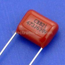 20PCS 47nF 630V Metallized Polypropylene Film Capacitor, 0.047uF