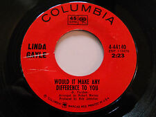 LINDA GAYLE Baby Don't Go 45 Would It Make Any Difference To You 4-44140 7""