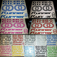 Gilera Runner Decals/Stickers-ALL COLOURS AVAILABLE- sp vx fxr vxr 50 70 125 172