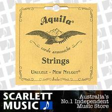 Aquila 4U Soprano Ukulele Nylgut Strings Set Regular Tuning GCEA AQ-4U