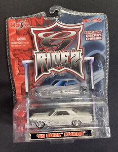 Maisto Urban Diecast Collection Rides - '65 Buick Riviera - DIECAST CHASIS  1:64