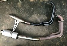 KAWASAKI ZXR400 ZXR 400 L COMPLETE EXHAUST WITH STANDARD + EXTRA DOWNPIPES