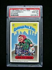 GARBAGE PAIL KIDS 1986 4th Series #141b Greta Garbage OS4 Graded PSA 10 GEM MINT