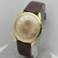 Vintage Waltham Men's manual winding watch Lorsa P72 17jewels France 1960s