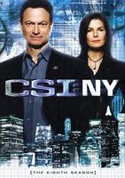 CSI: NY: The Eighth Season (Season 8) (5 Disc) DVD NEW