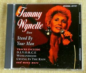 Tammy Wynette - Live : Stand By Your Man - 1994 Fat Boy Records CD