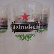 Lot de 57 verres gobelets à bière HEINEKEN